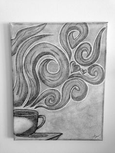 Coffee Canvas by SavorItArt on Etsy, $18.00