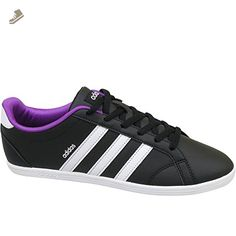 5a6581b67a1 Adidas - VS Coneo QT W - B74551 - Color  Black-Violet-White - Size  8.5 -  Adidas sneakers for women ( Amazon Partner-Link)