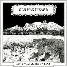 Old Man Lizard - LONE WOLF vs BROWN BEAR - Album Review