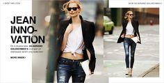 AG Adriano Goldschmied Distressed Jeans Lookbook | SHOPBOP