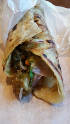 Kati Roll's mixed vegetable. .mmmm