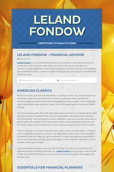 Leland Fondow