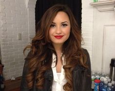 demi lovato is my singing role model she's pretty and has an amazing voice