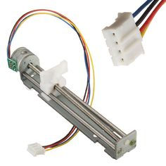 Find More Stepper Motor Information about New DC 4 9V 500mA Drive Stepper Motor Screw With Nut Slider 2 Phase 4 Wire For DIY Laser Engraving Machine,High Quality motor fridge,China screw nokia Suppliers, Cheap screw terminal from Son Day Day Up Store on Aliexpress.com