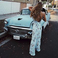 Cute jumpsuit, matches the car, convenient