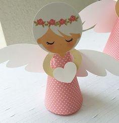 http:& Бумажные Ангелочки Kids Crafts, Crafts For Kids To Make, Preschool Crafts, Art For Kids, Diy And Crafts, Paper Crafts, Christmas Angel Crafts, Christmas Art, Christmas Decorations