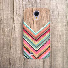 SAMSUNG Galaxy S4 Case Chevron Galaxy S5 Case door casesbycsera