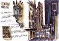 Urban Sketchers: In the heart of the city