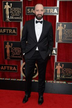 Pin for Later: See All the Stars on the SAG Awards Red Carpet! Tony Hale