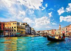 Venedik'in resmedilmiş başka bir manzarası