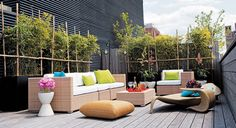 Deck And Terrace Design Ideas - Deck Decorating Ideas - ELLE DECOR