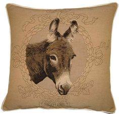 donkey head pillow