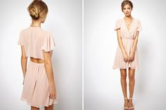 Wouldn't this blush dress be perfect for Valentine's Day?