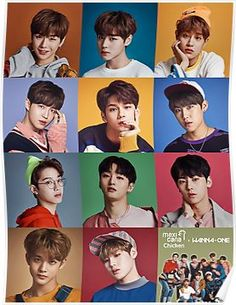 Wanna One x Mexicana Chicken ft. 3 In One, One Pic, Jinyoung, Minions, Groups Poster, Poster Poster, Ong Seung Woo, Produce 101 Season 2, Fandom