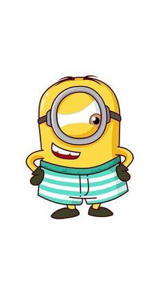 191 Minions Images Pinterest 2018 Despicable Funny Minion Gambar Kartun