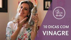 Confira 10 dicas para usar o vinagre na limpeza e manutenção de sua casa: Flávia Ferrari mostra o passo a passo de detalhado de cada dica doméstica em mais este vídeo do #aDicadoDia