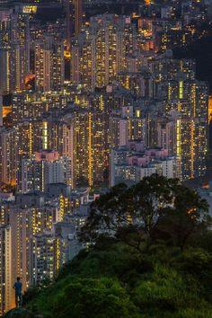 #HongKong #ExtremeVerticalLiving #Lights