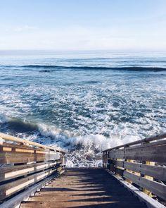 ocean at my feet
