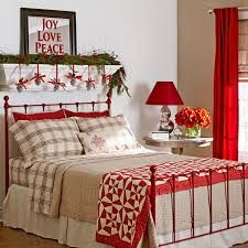 1000 images about christmas bedroom decor on pinterest