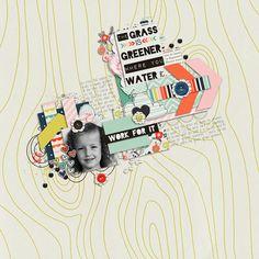 Sweet Shoppe Designs::Digital Scrap Kits::Grass is Greener Where you Water it by Lauren Grier