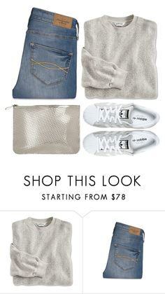 """""""Simple Fall"""" by hollowpoint-smile ❤ liked on Polyvore featuring Abercrombie & Fitch and adidas"""