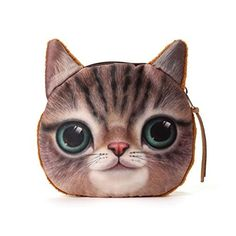 New Trending Purses: Zarapack Womens Wild Cat Series Coin Purse Wallet (style 4). Zarapack Women's Wild Cat Series Coin Purse Wallet (style 4)  Special Offer: $2.00  199 Reviews Wholesale Designer Wild Cat Series Coin Purse Wallet IT bag; Very cute chic designer bag purse, featured by 3d vivid imprint on one side and soft velvet on the other side. Quality...