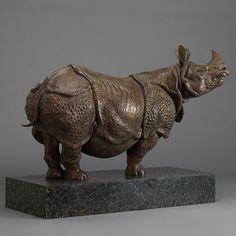 Indian Rhino (30″)