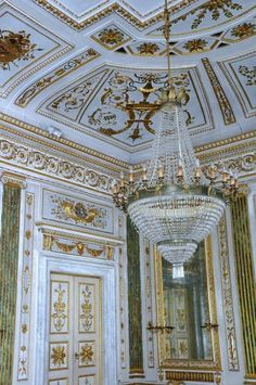Palazzo Orsetti, Lucca Italy one of the stunning chandeliers!