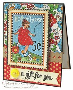 Scraps of Life: Graphic 45 Baby Card Class Tutorial