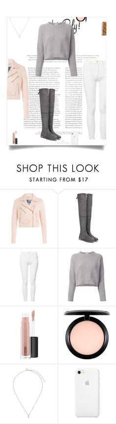 """""""Outfit For The Morning☀️Jobs"""" by andriana-aaa ❤ liked on Polyvore featuring Emilio Pucci, Mother, Brunello Cucinelli, MAC Cosmetics and CZ by Kenneth Jay Lane"""