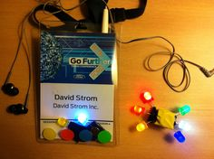 The LEDs we made at TechStop Motors, June, Ford, Motorbikes