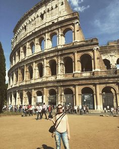 Exactly one year ago today I was leaving for 3 months of living in Italy and traveling around Europe. I made friends that I'll now have for life and saw places that a lot of people will never get to see... Safe to say I'm blessed  #ILoveTraveling #Europe #Italy #Spain #France #Greece #Rome #Colosseum by carleighnm