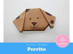 Aprende 3 fáciles Animalitos de Origami