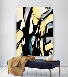 """Find out even more information on """"buy art artworks"""". Look into our site. Large Abstract Wall Art, Large Canvas Art, Abstract Paintings, Art Paintings, Large Painting, Hallway Art, Hallway Ideas, Living Room Canvas, Internet Art"""