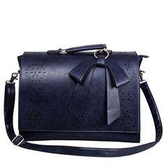 BAGSMART 2017 New Vintage Women's Laptop Briefcase Satchels Bag Ladies Shoulder Bags Retro Women Postman Bag Mori Girl Handbags
