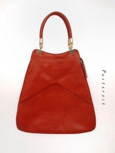 Mein Original 70er Jahre Vintage Tasche Orange Handtasche Eyecatcher von true vintage! Größe Uni für 42,00 €. Sieh´s dir an: http://www.kleiderkreisel.de/damentaschen/handtaschen/135585625-original-70er-jahre-vintage-tasche-orange-handtasche-eyecatcher.