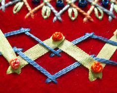 TAST Stitch Challenge: Herringbone in the Round – Needle'nThread.com