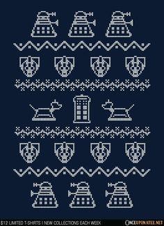 Thrilling Designing Your Own Cross Stitch Embroidery Patterns Ideas. Exhilarating Designing Your Own Cross Stitch Embroidery Patterns Ideas. Cross Stitching, Cross Stitch Embroidery, Embroidery Patterns, Cross Stitch Patterns, Doctor Who Christmas, Geek Crafts, Jar Crafts, Pixel Pattern, Fair Isle Knitting