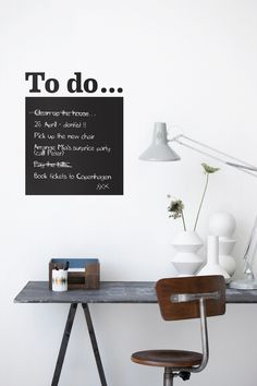 The most stylish list of things to do...