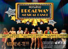 Workshop: Broadway Musical Dance > 17 (adiado para 24 Março), 20 e 21 Março, 2013 @ com passos, Vale de Cambra