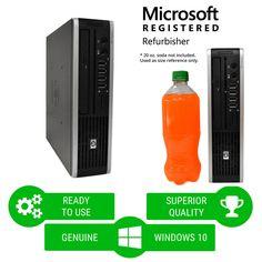 hp desktop computer pc intel core 2 duo 30ghz 4gb ram hd windows 10 64