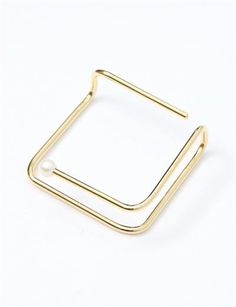 FAUX/real Hungry Bed Bangle Golf- Gold