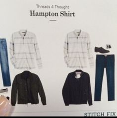 Stitch Fix Men - Threads 4 Thought, Hampton Shirt