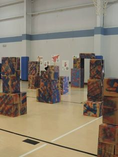 Nerf Gun Battle ground – Ideas of Nerf Gun – Nerf Gun Battle … Ninja Birthday Parties, 8th Birthday, Birthday Ideas, Army Party, Nerf Party, Laser Tag, Battle Ground, Party Themes, Party Ideas