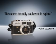 inspiring photography quote...and I believe it
