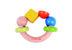 The new wooden EverEarth Yellow Square Grasping Toy is a wonderful gift for babies! FSC certified natural wood. Grasper, teether, sound maker. Also available in 3 other  adorable designs, the beads with star or square, elephant and turtle are sure to be much loved wooden toys by your children! #alltotstreasures #everearth #woodengraspingtoy #woodentoys #babytoys