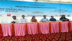 The state board of Health Services launched associate anganwadi and faculty based mostly de-worming programme to be enforced across 3,032 faculties and 11,500 anganwadis within the metropolis on the eve of National Deworming Day. The programme are going to be enforced together with the Department of Health and Family Welfare and technical help from proof Action's De-worm the globe Initiative.