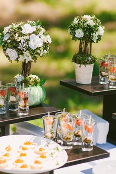 6 ideias de cardápios completos para festas de casamento