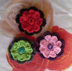 Loopy Flower by crocheting, via Flickr