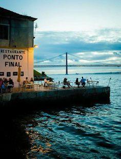 Lisboa. Restaurante Punto Final.
